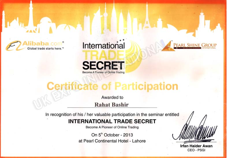 International Trade Secret