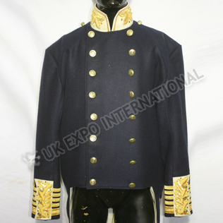 1902 Royal Navy Admirals Full Dress Tunic being a double breasted coatee