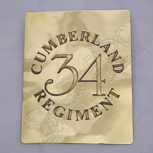34th Cumberland Regiment Chest Plate