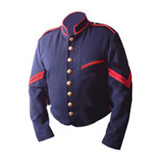 69th New York Militia  Special  Shell Jacket for Artillery