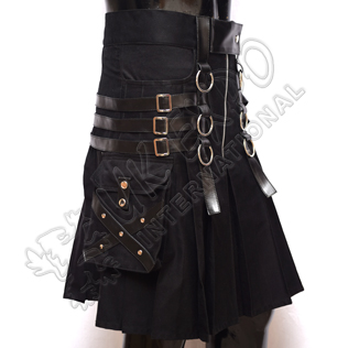 American Dark Series warrior Box Pleat Utility Kilts