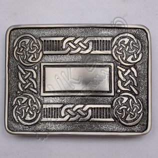 Antique Color Celtic Scottish Buckle