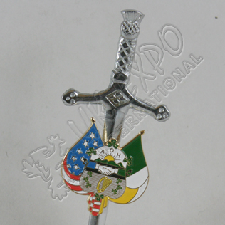 AOH Scottish Kilt Pin