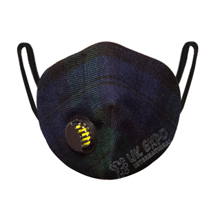 Black Watch Tartan Scottish Filter Mask