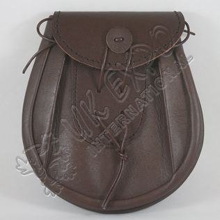 Brown Leather Day Wear Sporran