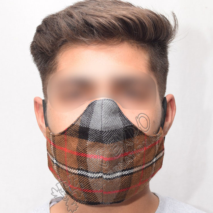 Burberry Check Corporate Tartan Scottish Style Fashion Mask