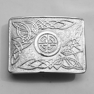 Celtic Round with Leaf Buckle