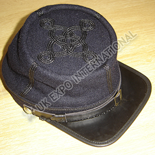 CS Captains Embroidered Kepi Black Color