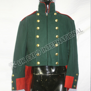 Dark green Color French regiment Coat