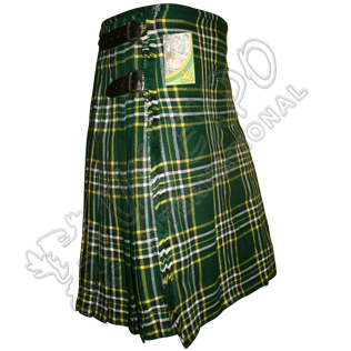 Darker Irish National Tartan Kilt