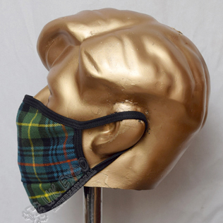 Flower of Scotland Tartan Scottish Style Mask