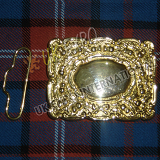 Gold Dress Scottish Buckle