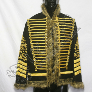 Hendrix Jimi Military Jacket With Golden Braid