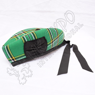 Irish National Tartan Glengarry Hat