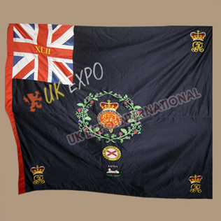 42nd Regiment Royal Highland Black Watch Large Flags Hand Embroidery Blue color flag