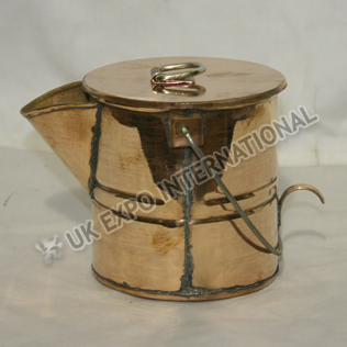 lg Coffee Boiler pot made in Copper