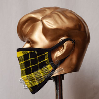 Macleod Dress Tartan Scottish Style Mask