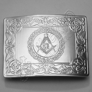 Masonic Buckle with Celtic Chain