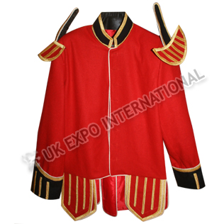 Military Piper Doublet Red Color Main Body