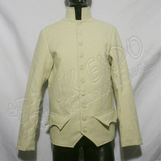 Napoleonic British jacket Main Body Cream color wool