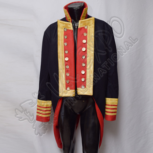 Napoleonic Spanish Officer jacket (DARK BLUE)