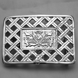 New Scottish Flower Celtic Buckle