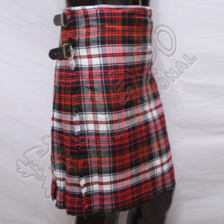 Red , Black and White Tartan Kilts