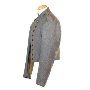 Richmond Depot II Jacket. Confederate Grey Wool