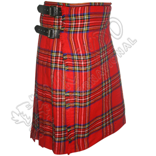 Royal Stewart Tartan Kilt long strap 3 Size adjustable