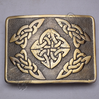 Scottish Celtic Design Bronze Buckle