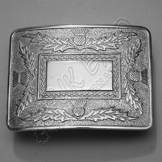 Scottish Thistle Kilt Buckle