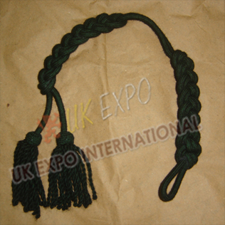 Shako Cord Dark Green Color Wool