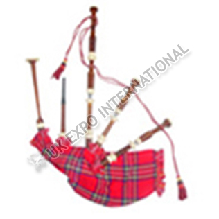 Sheesham Wood Bagpipe Natural Color