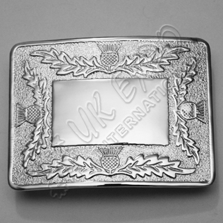 Thistle around side Design Buckle
