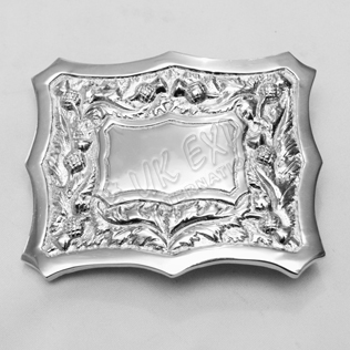 Thistle Design Buckle